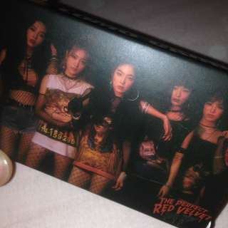 WTS RED VELVET LOMO CARDS