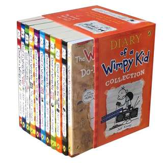 Diary Of A Wimpy Kid-11 books collection