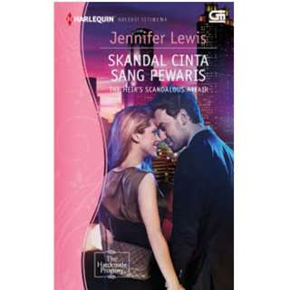 Ebook Skandal Cinta Sang Pewaris (The Heir's Scandalous Affair) - Jennifer Lewis