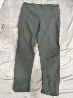Cotton On Body Grey Crop Leggings Size S