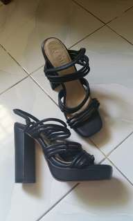 New Raoul Leather Heels