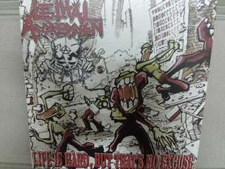 Vinyl Record LP: Lethal Aggression ‎– Life Is Hard, But That's No Excuse - Thrash Metal, Hardcore