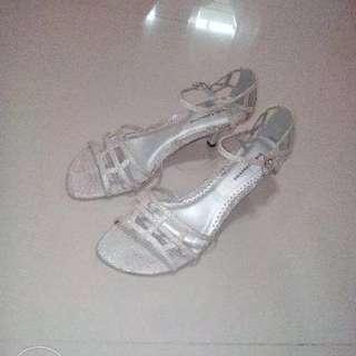 Silver Gibi High Heels