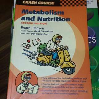 Metabolism & Nutrition Crash Course