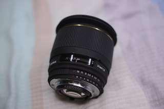 平放 Sigma 24MM F1.8 EX  NIKON MOUNT