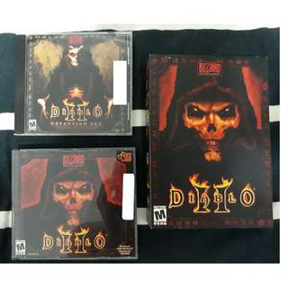 DIABLO 2 PC GAME + EXPANSION SET + CD KEY