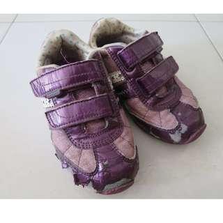 Pediped Girls' Sneakers (US 12 - 12.5 / UK 11 / EU 29)