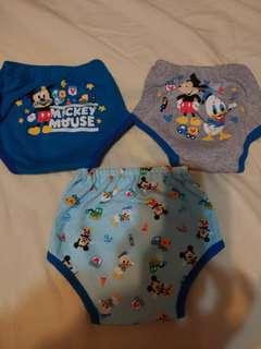 🚚 寶寶練習褲, 三件一起賣不拆售