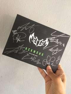 """[Signed Album] JJCC 2nd MINI ALBUM """"ACKMONG"""""""