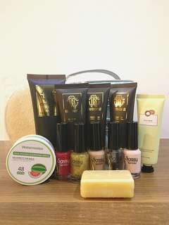 Exclusive Sale 15 Piece Nail Polish + Toiletry Set
