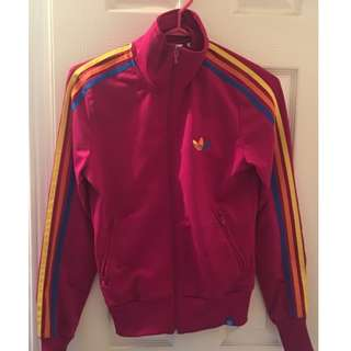 Adidas zip up size small