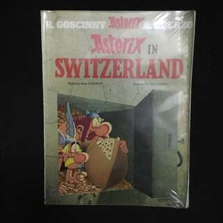 Asterix in Switzerland by René Goscinny and Albert Uderzo