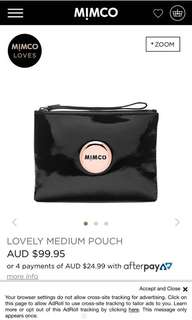 Lovely Medium Pouch