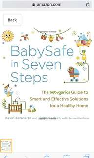 BabySafe in Seven Steps book