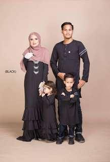 ALEEYA JUBAH FAMILY SET