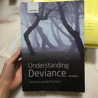 SC2212 Sociology of Deviance