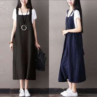 Maxi skirt overalls plus size