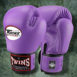 Twins Special Muay Thai Gloves - Light Purple - 12 oz