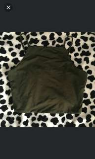 (INSTOCK) BN TEMT Halter Top in army green