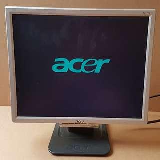 🔴宏碁ACER AL1716 17吋LCD螢幕