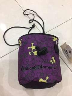 Black Diamond chalk bag