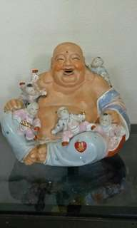 Laughing Buddha and other antiques