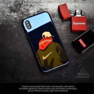 Hipster Reflective Supreme Iphone casing