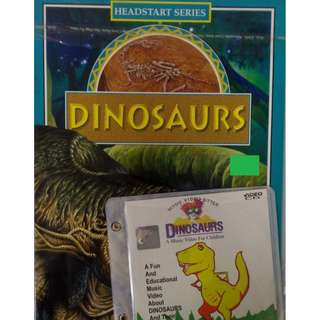 Dinosaurs + A Music Video For Children Dinosaurs VCD