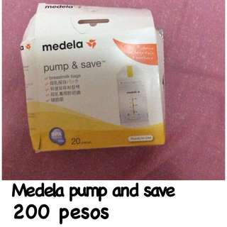 Pump and save