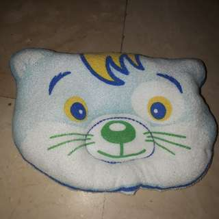 Tiger baby head pillow