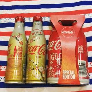 🚚 日本京都/櫻花可口可樂紀念瓶