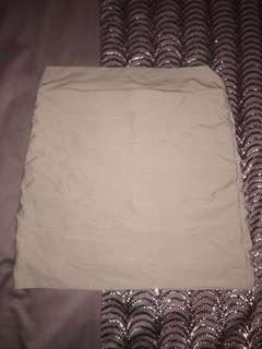 Kookai khaki skirt