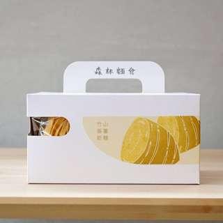 台灣代購 森林麵食  竹山番薯乾麵純麵條組 10包