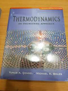 Thermodynamics (An engineering approach) 7th edition