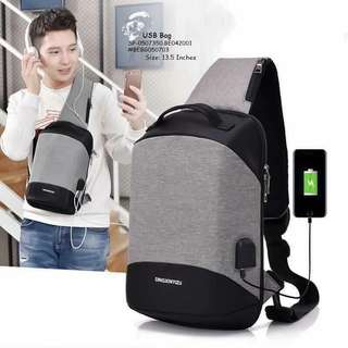 USB BAG Double Connector Free USB Data Wire & Headset Wire SIZE : 13 .5 inch TWO COLOR ONLY