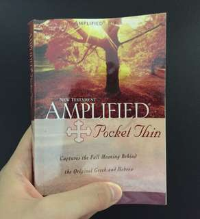 Amplified New Testament Bible