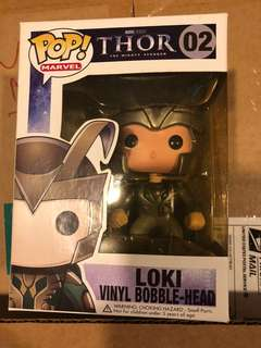 Funko Pop Loki (1st edition 2011 released) Thor the mighty avenger