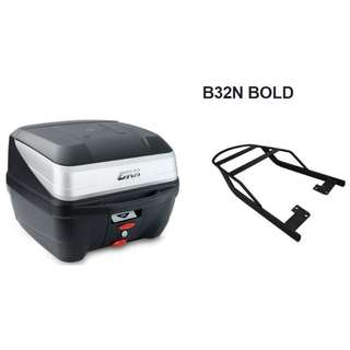 Givi box B32D bold included carrier