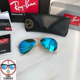 Rayban Sunglasses kid size ray ban aviator 3至9歲適合 同款大人有58/62mm size 700hkd