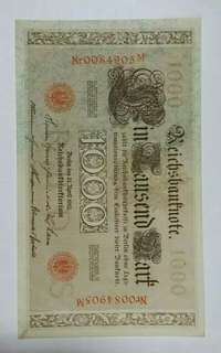 Old Germany currency