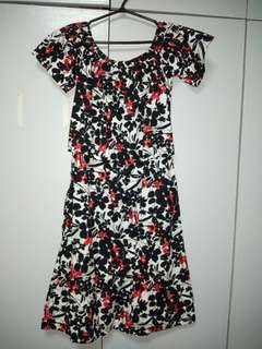 Nursing Floral Dress