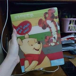 BINDER Winnie the Pooh