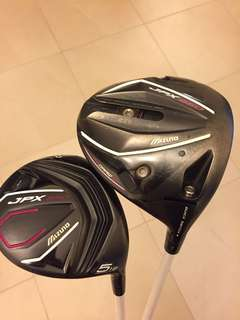 Mizuno JPX Driver and 5 Wood