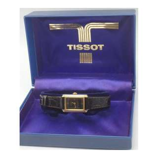 TISSOT ~ Gold Tone 上練女裝天梳錶 附盒