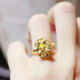 real gold 999 Ring  size:10-16