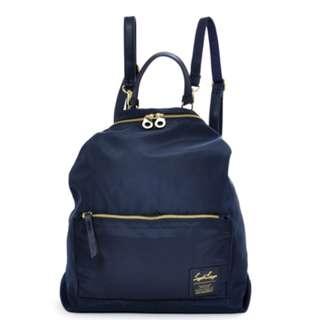 LH-K1041 [Legato largo] Navy 2Way Backpack with Shoulder !