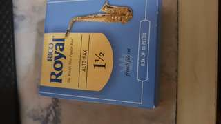 Rico royal 1.5 reeds alto saxophone