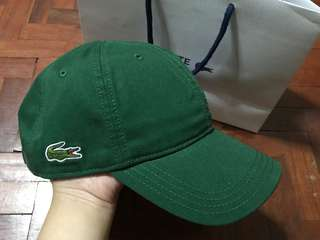 Authentic Lacoste Cap On hand