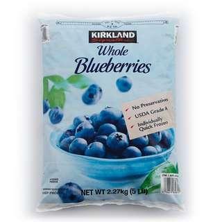 costco線上代購(缺貨中) #722573 KS 科克蘭 冷凍藍莓 2.27公斤 X 2包