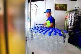 Water station staff